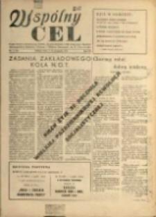 Wspólny cel : Organ Komitetu Zakładowego P.Z.P.R., Zarządu zakładów. ZMP, Rady Zakł. i Dyrekcji Jeleniogórskich Zakładów Celulozy Włókien Sztucznych im K. Gottwalda , 1955, nr 11 (60)