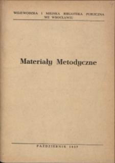 Materiały metodyczne, 1957, nr 4