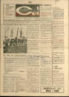 """Wspólny cel : Gazeta załogi ZWCH """"Chemitex - Celwiskoza"""" , 1983, nr 10 (875)"""