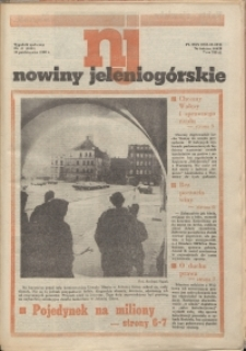 Nowiny Jeleniogórskie : tygodnik społeczny, R. 33, 1990, nr 41 (1600)