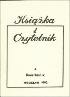 Książka i Czytelnik, 1992, nr 4