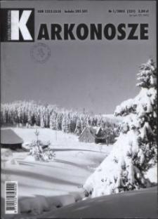 Karkonosze: Kultura i Turystyka, 2005, nr 1 (231)