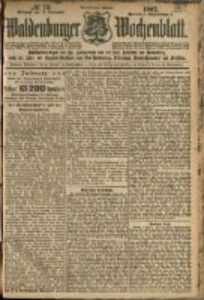 Waldenburger Wochenblatt, Jg. 48, 1902, nr 73