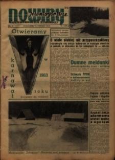 Nowiny Jeleniogórskie : magazyn ilustrowany ziemi jeleniogórskiej, R. 6, 1963, nr 1 (249)