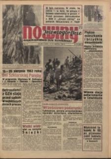 Nowiny Jeleniogórskie : magazyn ilustrowany ziemi jeleniogórskiej, R. 6, 1963, nr 33 (281)