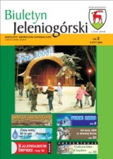 Biuletyn Jeleniogórski : bezpłatny miesięcznik informacyjny, 2008, nr 2