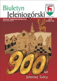 Biuletyn Jeleniogórski : bezpłatny miesięcznik informacyjny, 2008, nr 3