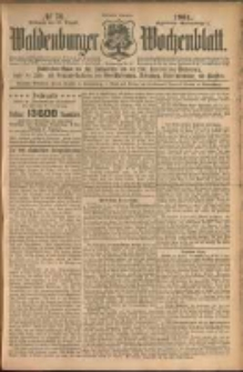 Waldenburger Wochenblatt, Jg. 50, 1904, nr 70