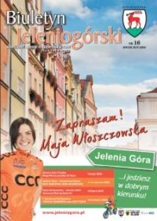 Biuletyn Jeleniogórski : bezpłatny miesięcznik informacyjny, 2009, nr 16