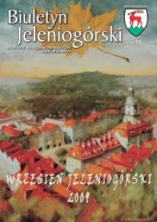 Biuletyn Jeleniogórski : bezpłatny miesięcznik informacyjny, 2009, nr 21