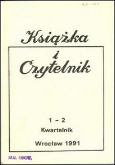 Książka i Czytelnik, 1991, nr 1/2