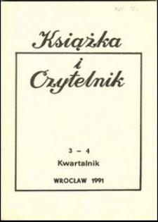 Książka i Czytelnik, 1991, nr 3/4