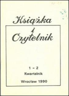 Książka i Czytelnik, 1990, nr 1/2