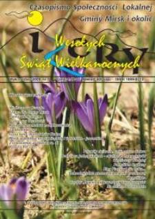 Izery : czasopismo społeczności lokalnej Gminy Mirsk i okolic, 2009, nr 7 (marzec)
