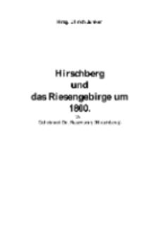 Hirschberg und das Riesengebirge um1800 [Dokument elektroniczny]