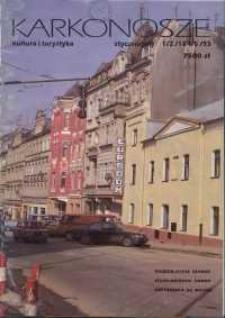 Karkonosze: Kultura i Turystyka, 1993, nr 1/2 (184/5)