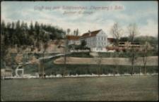Gruß aus dem Schützenhaus Löwenberg i. Schl. Besitzer H. Lange [Dokument ikonograficzny]