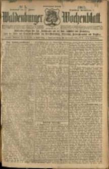 Waldenburger Wochenblatt, Jg. 51, 1905, nr 5