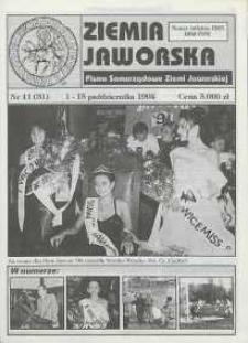 Ziemia Jaworska : pismo samorządowe Ziemi Jaworskiej, 1994, nr 11
