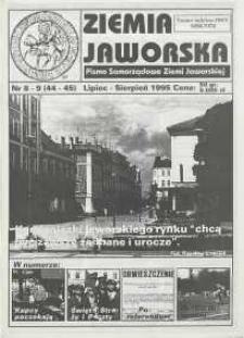 Ziemia Jaworska : pismo samorządowe Ziemi Jaworskiej, 1995, nr 8/9