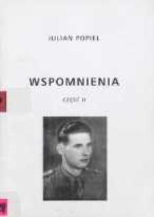 Wspomnienia. Cz. 2, Służba w wojsku i okres powojenny