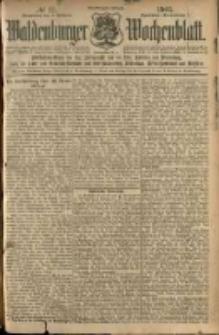 Waldenburger Wochenblatt, Jg. 51, 1905, nr 11