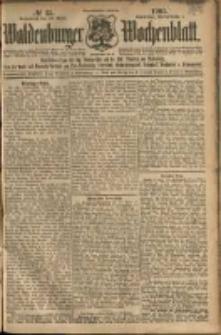 Waldenburger Wochenblatt, Jg. 51, 1905, nr 35