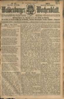 Waldenburger Wochenblatt, Jg. 51, 1905, nr 37