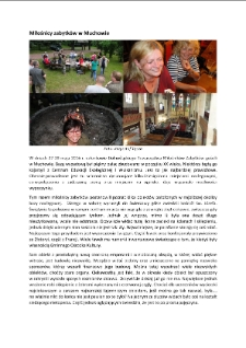 Miłośnicy zabytków w Muchowie [Dokument elektroniczny]