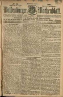 Waldenburger Wochenblatt, Jg. 51, 1905, nr 55