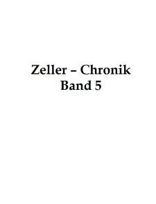 Zeller-Chronik. Bd. 5 [Dokument elektroniczny]