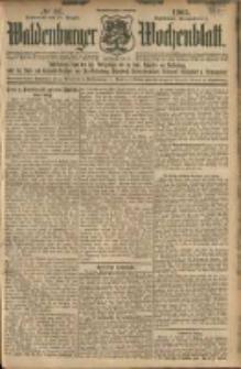Waldenburger Wochenblatt, Jg. 51, 1905, nr 67