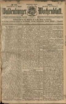 Waldenburger Wochenblatt, Jg. 51, 1905, nr 69