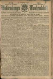 Waldenburger Wochenblatt, Jg. 51, 1905, nr 83