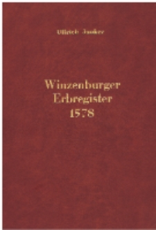 Winzenburger Erbregister1578 [Dokument elektroniczny]