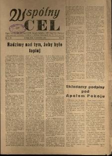 Wspólny cel : Organ Komitetu Zakładowego P.Z.P.R., Zarządu zakładów. ZMP, Rady Zakł. i Dyrekcji Jeleniogórskich Zakładów Celulozy Włókien Sztucznych im K. Gottwalda , 1955, nr 5 (54)