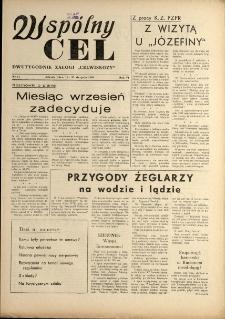 """Wspólny cel : Dwutygodnik załogi """"Celwiskozy"""" , 1958, nr 14"""