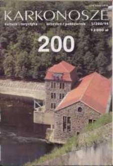 Karkonosze: Kultura i Turystyka, 1994, nr 5 (200)