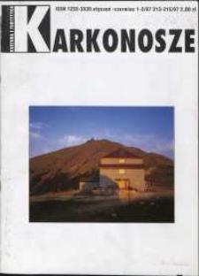 Karkonosze: Kultura i Turystyka, 1997, nr 1-3 (213/215)