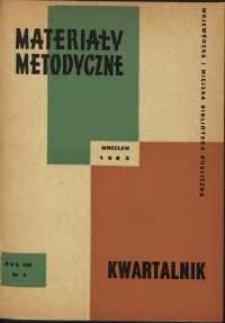Materiały metodyczne : kwartalnik, R. VIII, 1963, nr 3