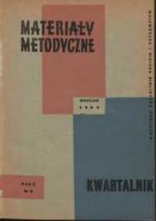 Materiały metodyczne : kwartalnik, R. X, 1965, nr 2