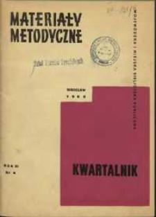 Materiały metodyczne : kwartalnik, R. XI, 1966, nr 4