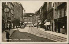 Hirschberg i. Schles. Bahnhofstrasse [Dokument ikonograficzny]