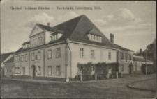 Gasthof Goldener Frieden - Reichshalle, Löwenberg, Schl. [Dokument ikonograficzny]