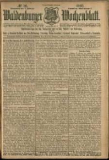 Waldenburger Wochenblatt, Jg. 53, 1907, nr 10