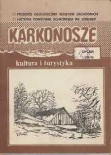 Karkonosze: Kultura i Turystyka, 1992, nr 1 (173)