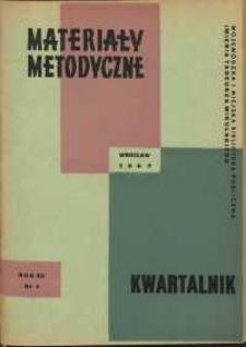 Materiały metodyczne : kwartalnik, R. XII, 1967, nr 4