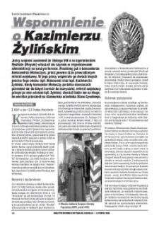 Wspomnienie o Kazimierzu Żylińskim