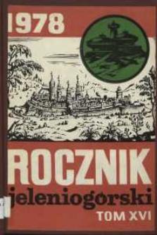 Rocznik Jeleniogórski, T. 16 (1978)