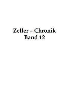 Zeller-Chronik. Bd. 12 [Dokument elektroniczny]
